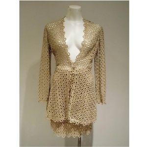 RARE Vintage Salvatore Ferragamo skirt suit